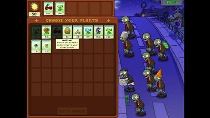 Plant vs zombies. Една от най- трудните мисий