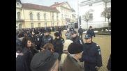 Кадри От Протеста Пред Енергийното Министерство 3