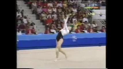 1992 Olympics Rhythmic Gymnastics - Montage