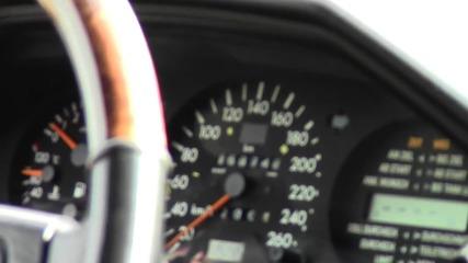 Мерцедес 500e W124 0-150km/h