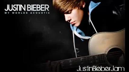 Justin Bieber - Never Say Never (акустична версия)