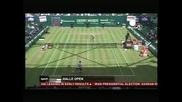Федерер – Хаас и Гаске – Южни са полуфиналите в Хале