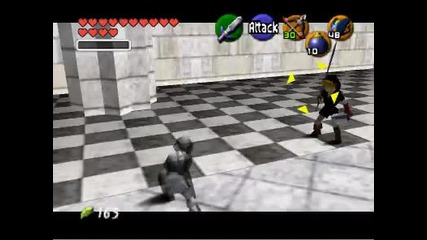 Ocarina of Time-playing as Dark Link