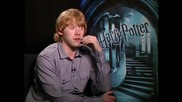Rupert Grint - интервю Harry Potter and the Half - Blood Prince - част 2