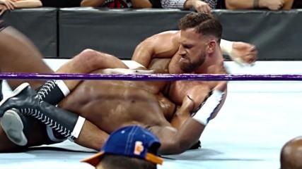 Cedric Alexander and Drew Gulak collide for the WWE Cruiserweight Championship