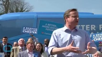 David Cameron Hosts EC's Jean-Claude Juncker
