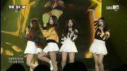 Red Velvet - Ice Cream Cake @ 150505 Sbs The Show