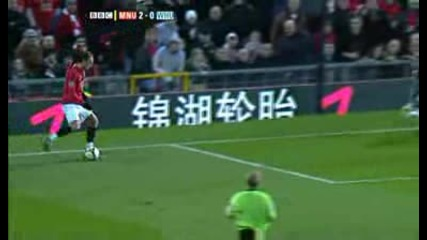 Финт На Бербатов Срещу West Ham*hq*!!!