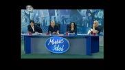 Music Idol 3 Кастинг Пловдив Танцьорката Венелина Попова Убеди Журито да Продължи