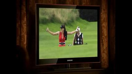 голф експертки реклама на samsung