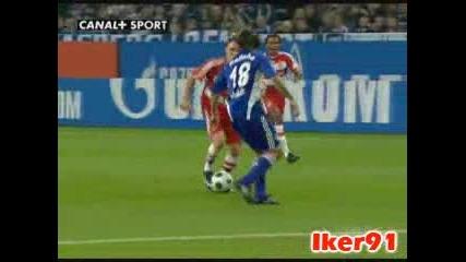 09.11.2008 Schalke1 - 2 Bayern Munich Ribery