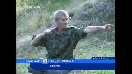 novatv.bg.мечка и пастир - очи в очи на метри от село Сопота - Нова Телевизия
