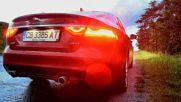 Jaguar Xf 30d V6 - звук на двигателя при празен ход, форсиране и ускорение