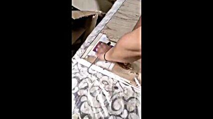 """Откриха голямо количество контрабандни цигари, укрити в мебели на """"Капитан Андреево"""""""