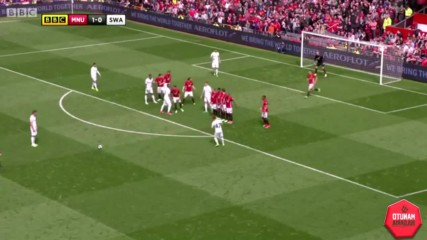 Highlights: Manchester United - Swansea City 30/04/2017