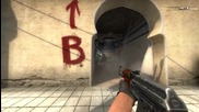Counter-strike Global Offensive 1vs5 Cluch Ace Ak-47 Spray
