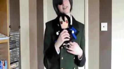 Black Butler - Kuroshitsuji - Sebastian Save Me - Call Me Maybe Parody
