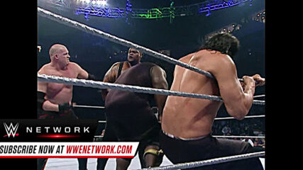 Behemoths collide in Monster Mash Battle Royal: WWE ECW, Oct. 30, 2007