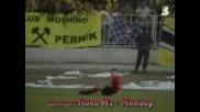Обзор на футболното хулиганство в България през изминалата 2007 - а година