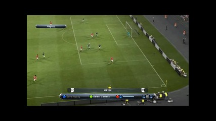 Pes 13 Английски гол на Wayne Rooney от нулев ъгъл!