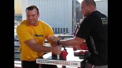 Arm Wars Devon Larratt vs Travis Bagent