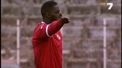 Jackson Mendy vs Slavia Sofia