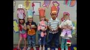 Дечицата от читалище Владо Кузов поздравяват всички