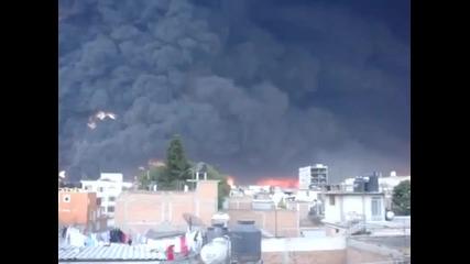 Стена от дим в Mexico