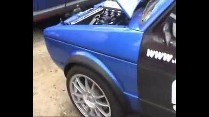 Mk1 Golf Hayabusa Turbo!