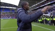 Fabrice Muamba се завърна на терена - 02.05.2012