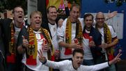 France: German and Polish fans warm up for Group C clash