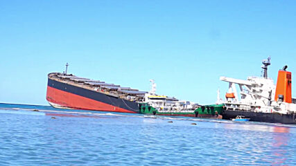 Mauritius: Oil removal from stranded cargo ship nearly complete