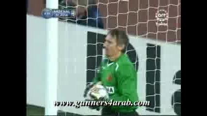 Арсенал - Славия Прага 1:0 Сеск