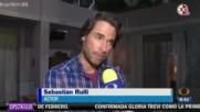 Angelique Boyer Sebastian Rulli y Elenco de Tres Veces Ana Graban los promocionales