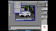 Ето как да си направим мигащи фарове с Photoshop.. (високо качество)
