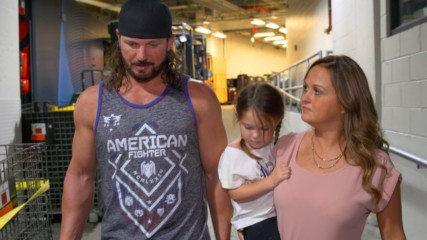AJ Styles apologizes to his family for losing his cool vs. Samoa Joe: WWE.com Exclusive, Aug. 19, 2018