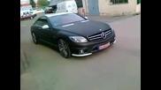 Изцяло Матов Mercedes Cl65 Amg