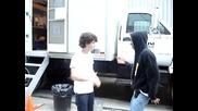 camp rock Nick Jonas Jman (jordan Francis) - handshake