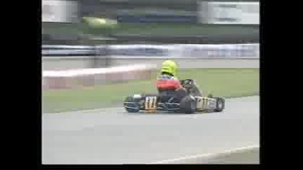 Lewis Hamilton - Karting wins from the back