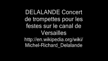 Delalande Concert De Trompettes 5