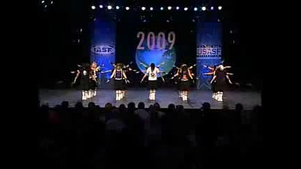 Alpha Cheer & Dance Co. - International Open Hip Hop Worlds 2009