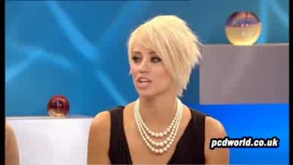 Pussycat Dolls - Kimberly Waytt interview im @ Loose Women (24th July 2009)
