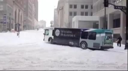 Ето защо не се прави дрифт с автобус