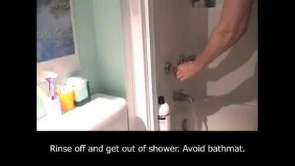 Как се къпят жените и как мъжете
