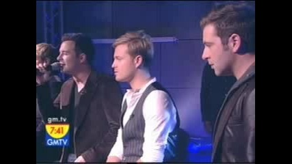 Westlife - The Rose (live)