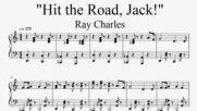 """Hit the Road, Jack!"" - Ray Charles (Piano Cover)"