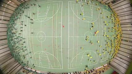 1200 човека играят народна топка!