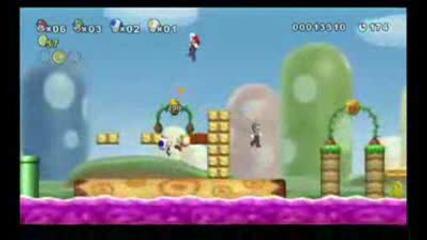Супер Марио 2009 - Трилър