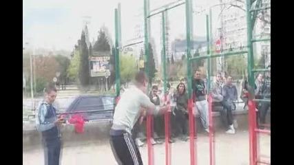 Street Fitness In Stara Zagora