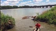 Риболов с кану